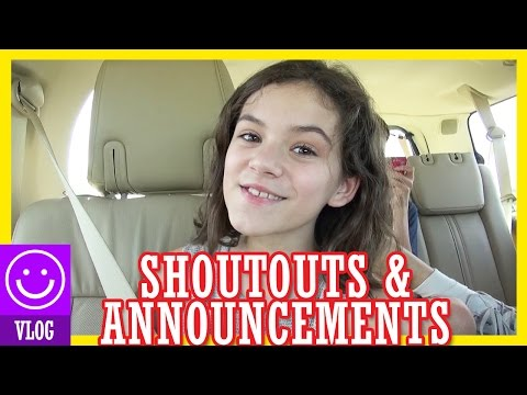 SHOUTOUTS AND SCHEDULE ANNOUNCEMENT!!  |  KITTIESMAMA