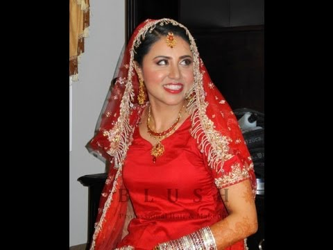 Real Punjabi Bride Makeup