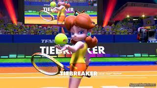 Mario Tennis Aces-Daisy Vs Peach