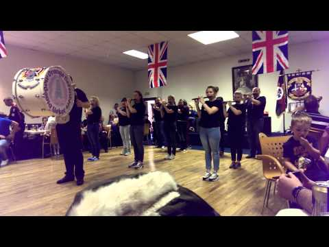 Glasgow Orange Defenders at ppbfb culture day