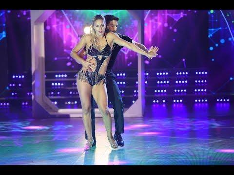 El Cha cha pop les sienta bien a Flor Vigna y a Gonza Gerber en la semifinal