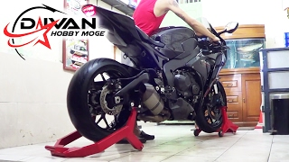 For Sale.. Honda CBR 1000 RR 2013, SOUND Exhaust Akrapovic Anniversary Carbon Titanium(istimewa)