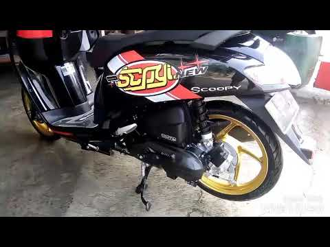Modifikasi All New Scoopy 2017/2018 (babylookstyle)