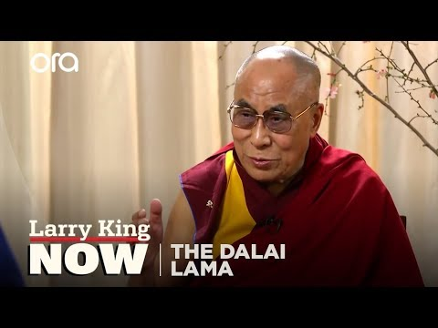 The Dalai Lama Weighs In On Same Sex Marriage | Dalai Lama Interview | Larry King Now - Ora Tv video