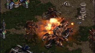 Larva (Z) v Light (T) on Fighting Spirit- StarCraft  - Brood War REMASTERED