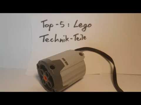 Top 5: Nützliche Lego-Technik-Steine