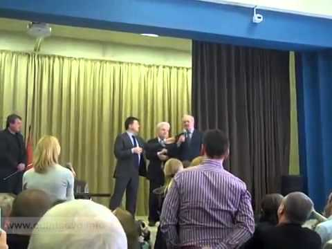 Губернатор ВОРОБЬЕВ прогоняет главу Одинцово со сцены