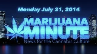Marijuana Minute, July 21 2014: House Bans Harshing on Medical Marijuana, Senate Yet to Decide