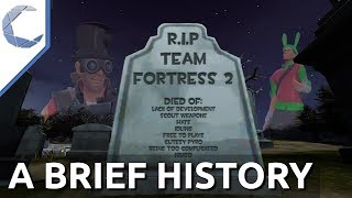 """A Brief History of the Many """"Deaths"""" of Team Fortress 2 💀"""
