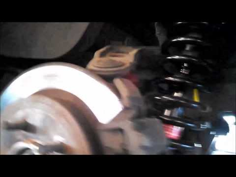 Rear strut replacement Ford Explorer 2002 - 2005 Mercury Mountaineer Install Remove Replace