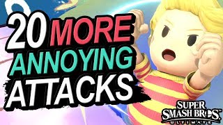 20 MORE ANNOYING Attacks In Smash Ultimate