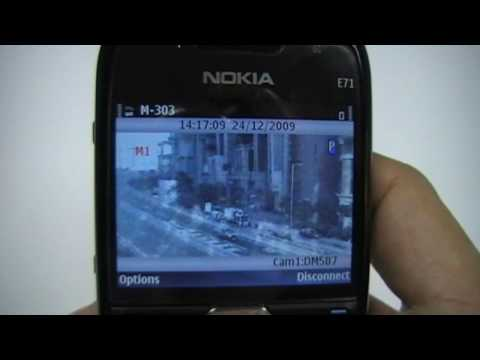 CCTV video surveillance on mobile phone - TeleEye Mobile Monitoring Solution (Version 2)