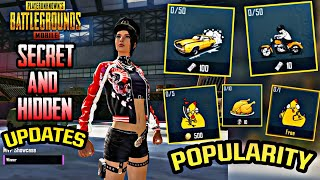 NEW HIDDEN UPDATE - CHARISMA, MVP AND POPULARITY IN PUBG MOBILE 0.13.0