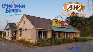 Abandoned Long John Silver's / A&W Robinson Township, Pa