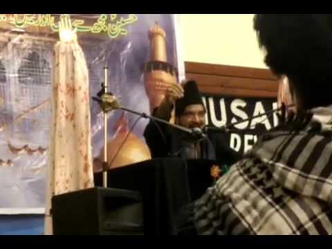01 Allama Ali Nasir Al Hussaini Talhara (Pakistan) - Coventry (UK) - 9th November 2014 15th Muharram