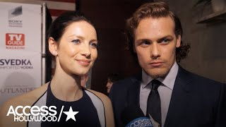 Caitriona Balfe & Sam Heughan Excited For Fans To See S2 Of 'Outlander'