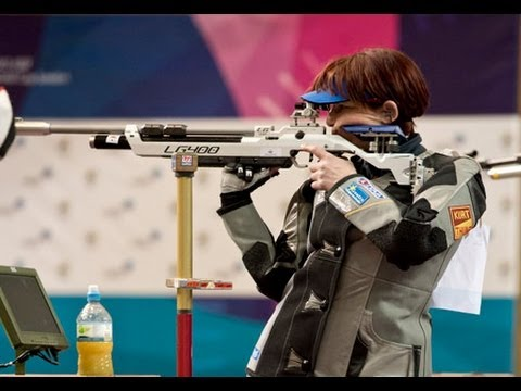 Finals 10m Air Rifle Women - ISSF World Cup in all events 2012, London (GBR)