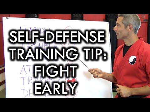 Self-Defense Training Tip: Fight Early