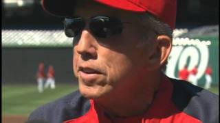 Ray Knight sits down with Davey Johnson to get his thoughts on managing the Nationals