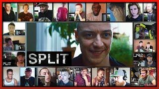 SPLIT Official Trailer Reaction's Mashup
