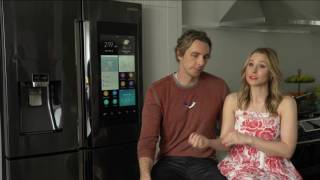 CWEB.com -Behind the Scene Celebrity Kristen Bell and Dax Shepard Return in Samsung's New Campaign