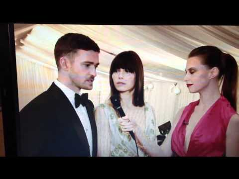 Justin Timberlake & Jessica Biel at the 2012 Met Ball