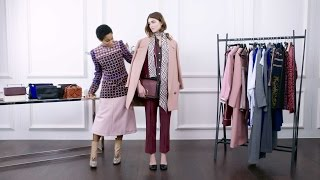 How To Wear Color: Fall's Must-Have Styling Tips  | NET-A-PORTER