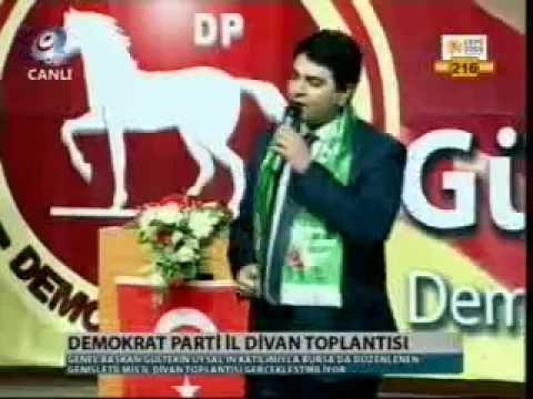 Demokrat Parti Genel Başkanı Gültekin Uysal  Kanal35