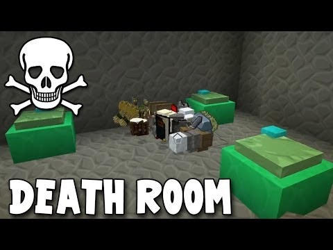 Minecraft - Race To The Moon - Death Room! [25]