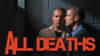 Prison Break | 127 deaths (All Deaths - 1-4 Seasons)
