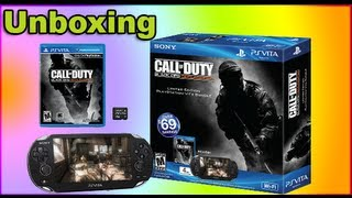 Unboxing Call of Duty Black Ops Declassified PS Vita Bundle