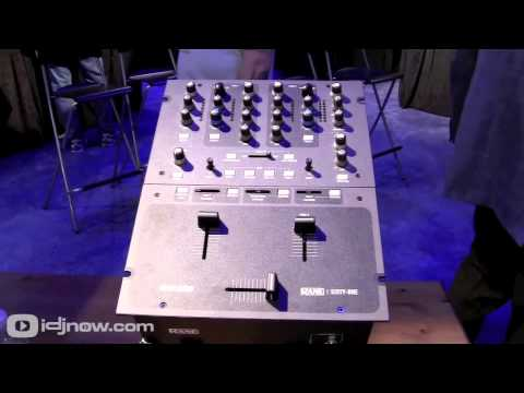 Rane Sixty-One (61) Serato DJ Mixer at NAMM 2012 with IDJNOW.COM