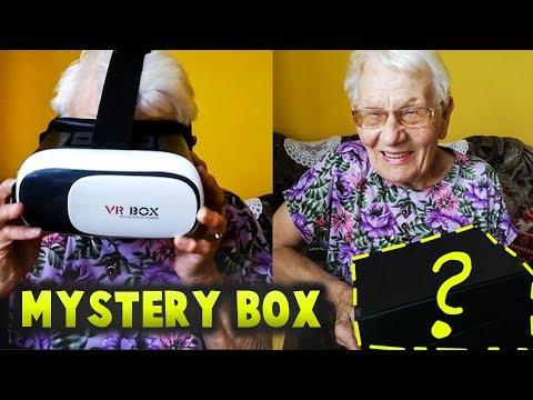 BABCIA OTWIERA MYSTERY BOX