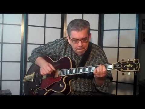 Jazz Blues Solo All In Chords Royce Campbell