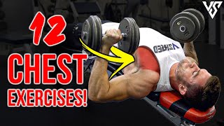 12 Best CHEST Exercises For Bigger Pecs