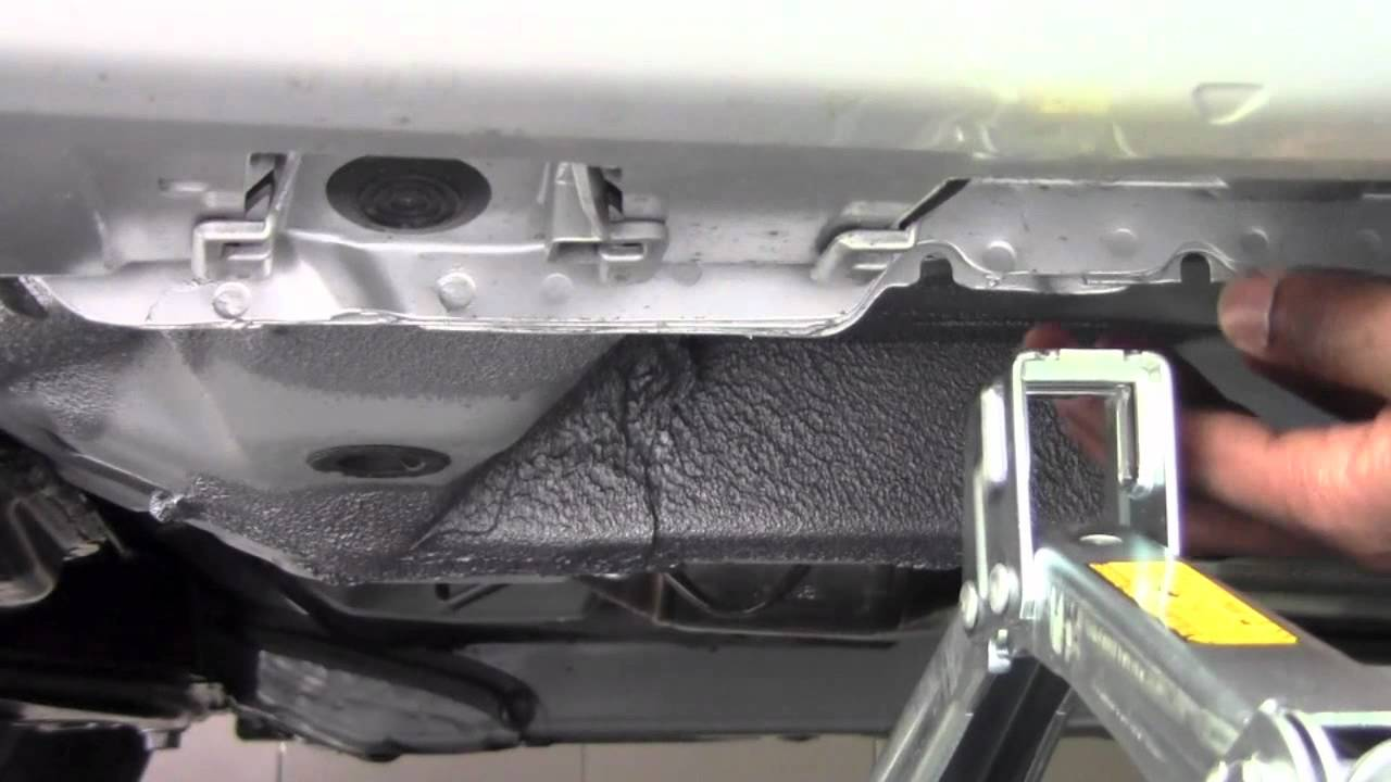 2011 Toyota Corolla Jack Placement How To By