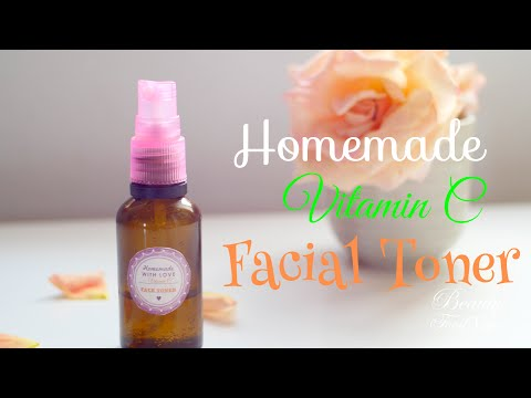 Fade Away Acne Scars & Dark Spots with this Homemade Vitamin C Facial Toner