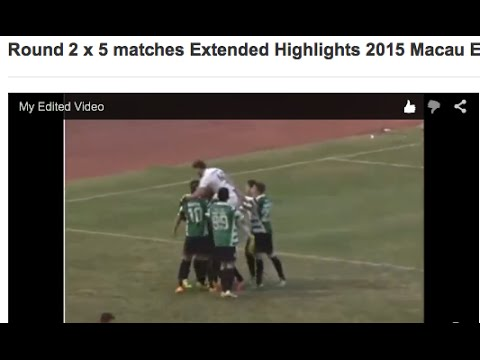 Round 2  x 5 matches Extended Highlights 2015 Macau Elite League