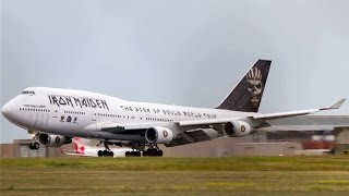 ED FORCE ONE | Boeing 747-428 Landing Melbourne Airport - [TF-AAK]