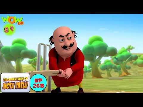 Cricket League - Motu Patlu in Hindi WITH ENGLISH, SPANISH & FRENCH SUBTITLES thumbnail