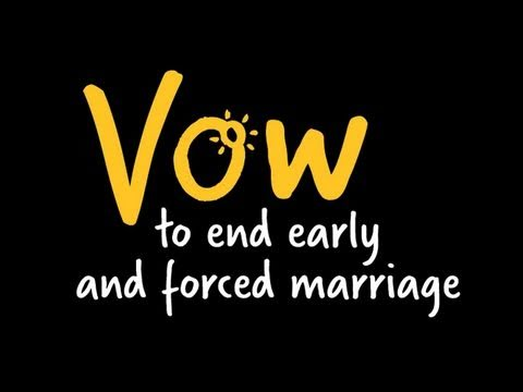 FORCED MARRIAGE SURVIVOR LAUNCHES CAMPAIGN TO END CHILD MARRIAGE
