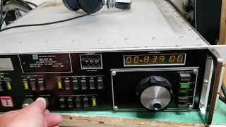 Watkins Johnson WJ-8716 HF Receiver .5-30MHz