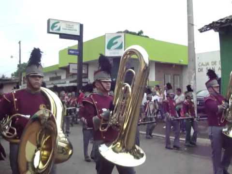 CMB - Coruña Marching Band 2010  Jiquilisco