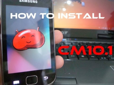 [How To Install] CyanogenMod 10.1 Pro OD [Android 4.2.2 / Jelly Bean] on Galaxy Gio itemprop=