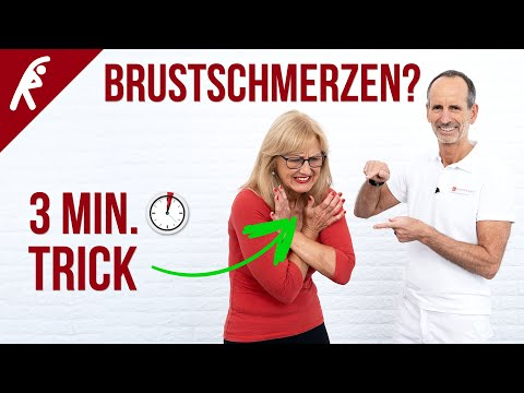 Der 3-Minuten Trick gegen Brustschmerzen!
