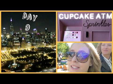 Cupcake Atm & Helicopters At Night! Vlogtober 9 video