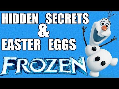 10 Hidden Secrets Easter Eggs In Disney S Frozen