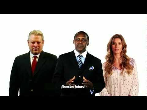 Gore, Gisele Bundchen and Yumkella on Energy for All - Spanish subtitles