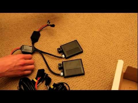 DDM Tuning 6000k 55w HID Kit: Unboxing