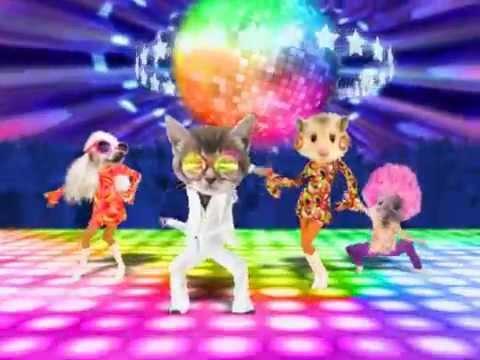 Carte anniversaire disco youtube for Decoration murale annee 80